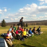 Photo taken at Honey Brook Golf Club by Jeff T. on 4/9/2014
