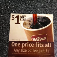 Photo taken at Wawa by Jeff T. on 1/15/2013