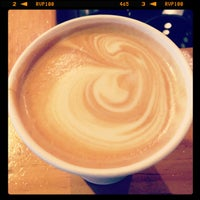 Photo taken at Once Over Coffee Bar by Maria K. on 2/11/2013
