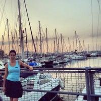 Photo taken at Larnaca Marina by Maciej S. on 6/30/2013