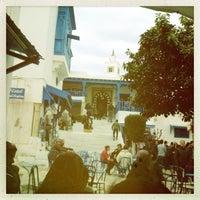 3/25/2013 tarihinde Noura M.ziyaretçi tarafından Café des Nattes'de çekilen fotoğraf
