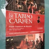 Photo taken at El Tablao de Carmen by Alf on 3/1/2013