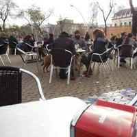 Photo taken at Kiosko de los Leones by Manolo M. on 2/10/2013