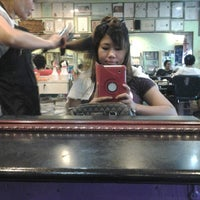 Photo taken at Linda Unisex Hair Design by azza a. on 2/15/2013