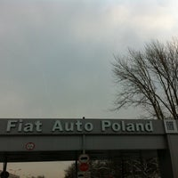 Photo taken at Fiat Auto Poland by Andalu77 on 4/2/2013