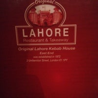 Photo taken at Lahore Restaurant by Khaled S. on 10/4/2014