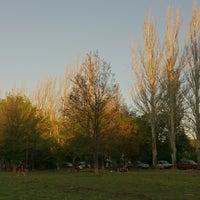 Photo taken at Parque Hipólito Yrigoyen by Mauricio D. on 10/14/2013