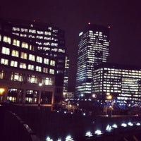 Photo taken at Canary Wharf by Karina N. on 3/1/2013