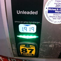 Photo taken at GetGo Gas Station by Tom C. on 1/16/2013