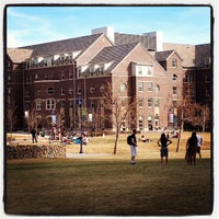 Photo taken at UNC: Turner Green by Austen W. on 3/14/2013