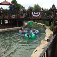 Photo taken at Lazy River @ Big Cedar Lodge by Nina B. on 7/10/2013