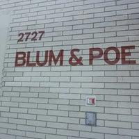 Photo taken at Blum & Poe by Jill N. on 4/25/2013