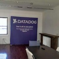 Photo taken at Datadog HQ by Kip P. on 10/14/2013
