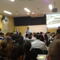 Photo taken at Faculdade Pio XII by Marcos T. on 4/16/2013