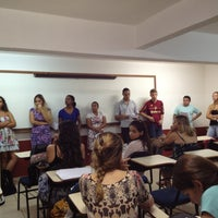 Photo taken at Faculdade Pio XII by Marcos T. on 3/23/2013