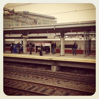 Photo taken at Stamford Transportation Center : Bus/Train (STM) Metro North & Amtrak by Derek D. on 10/9/2012