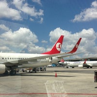 7/16/2013 tarihinde Suatziyaretçi tarafından İstanbul Atatürk Havalimanı (IST)'de çekilen fotoğraf