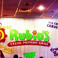 Photo taken at Rubio's by David B. on 4/21/2013