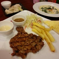 Photo taken at Jeffer Steak by lovekhonRead ^. on 6/12/2013
