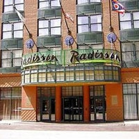 Photo taken at Radisson Hotel Cleveland-Gateway by Kir on 2/27/2013