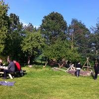 Photo taken at Gribskov Efterskole by Louise E. on 5/29/2013