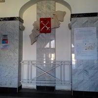 Photo taken at Администрация Выборгского района by Glooe M. on 4/22/2013
