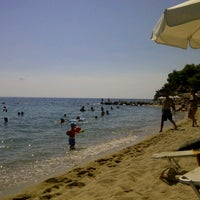Photo taken at ISLA Beach Bar by Athanassios T. on 8/3/2013