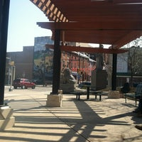 Photo taken at Tenth Street Plaza by Chad B. on 3/17/2012