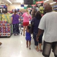 Photo taken at Walmart Supercenter by Matthew T R. on 7/4/2012