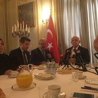 Photo taken at Ambassade de Turquie by Esma S. on 10/14/2016
