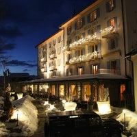 Photo taken at Hôtel Bella-Tola by Olivier P. on 2/21/2013