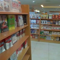 Photo taken at Gramedia by jover k. on 7/26/2013