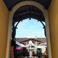 Photo taken at Mercado Público de Itajaí by João Paulo K. on 6/20/2015