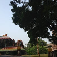 Photo taken at Sri Raja Rajeswary Temple by Geethu on 8/6/2013
