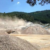 Photo taken at Öztaş Madencilik by Hakan Z. on 7/24/2013
