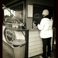 Photo taken at Burton Coffee Stand by Josh. on 4/12/2013