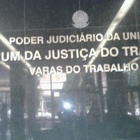 Photo taken at Justiça do Trabalho by Fabricia G. on 4/8/2013