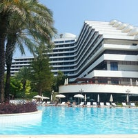 Photo taken at Rixos Downtown Antalya by Merih K. on 6/27/2013