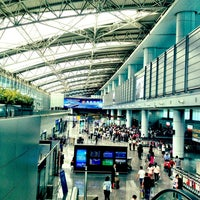 Photo taken at Guangzhou Baiyun International Airport (CAN) by Taka Y. on 5/31/2013