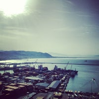 Photo taken at Porto di Salerno by Jacopo M. on 5/21/2013