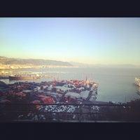 Photo taken at Porto di Salerno by Jacopo M. on 2/7/2013