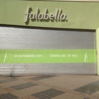 Photo taken at Falabella Mall Plaza Sur by Sergio  on 9/28/2013