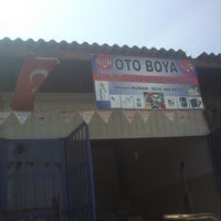 Photo taken at Nur Oto Boya by Berkay D. on 8/16/2013