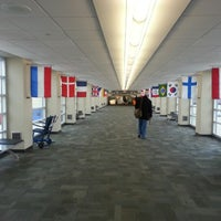 Photo taken at The Eastern Iowa Airport (CID) by Sebastian S. on 10/29/2012