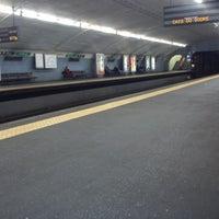 Photo taken at Metro Arroios [VD] by Filipa S. on 2/18/2013