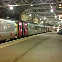 Photo taken at Haymarket Railway Station (HYM) by Mark on 2/14/2013