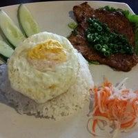 Photo taken at Saigon Cafe by Elaine F. on 2/22/2014