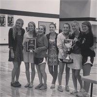 Photo taken at Guerin Catholic High School by Jennifer D. on 9/13/2014