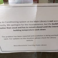 Foto tirada no(a) West Bloomfield Township Public Library por Justin E. em 6/18/2018