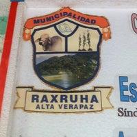 Photo taken at Municipalidad Raxruha by Allan F. on 8/22/2013